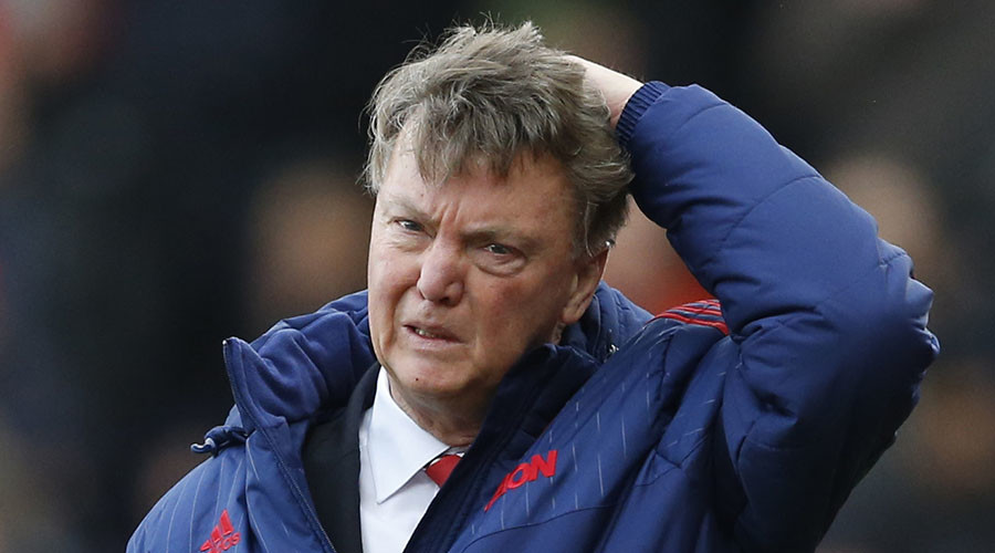 Manchester United manager Louis van Gaal.  © Action Images / Carl Recine
