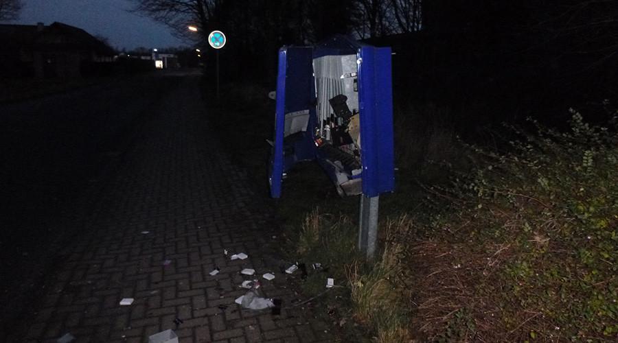 Man dies in condom machine robbery on Christmas morning
