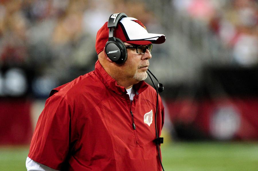Arizona Cardinals head coach Bruce Arians.