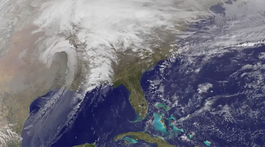 Monster winter storm 'Goliath' brings twisters, floods, snow and deaths
