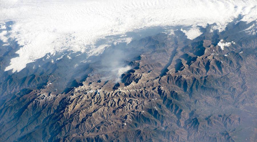 Sierra Nevada de Santa Marta, northern Columbia. © NASA
