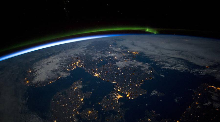 Scandinavia at Night. © NASA