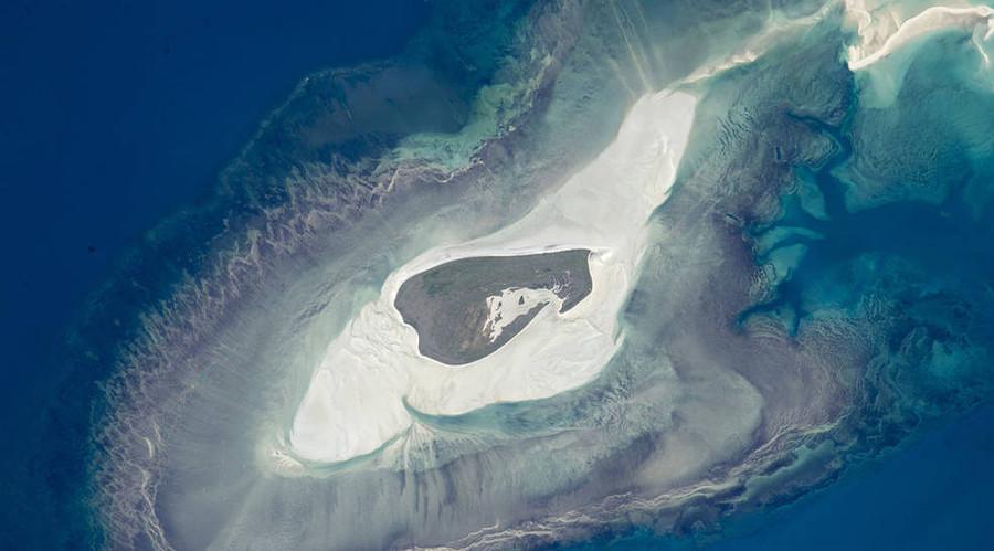 Adele Island, northwest Australia. © NASA
