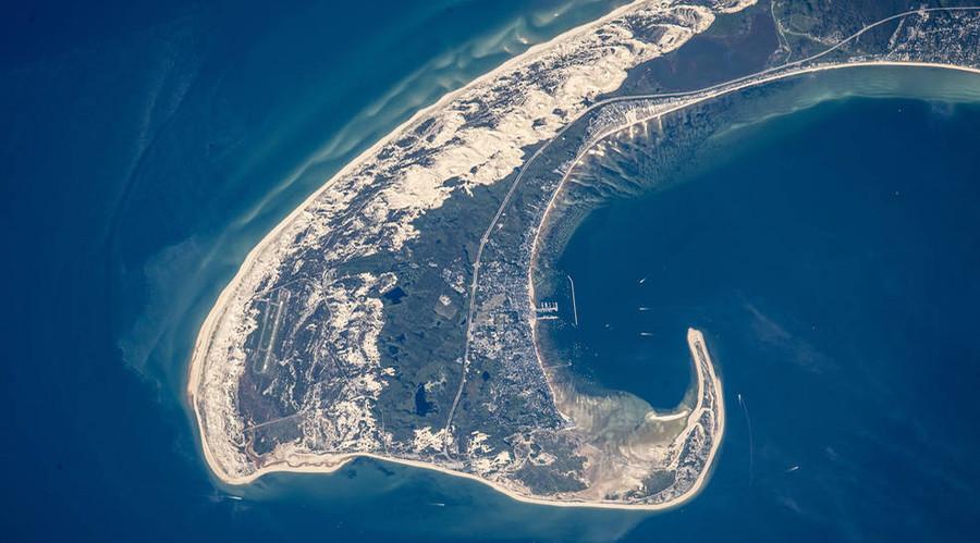 Shaping Cape Cod, Massachusetts. © NASA