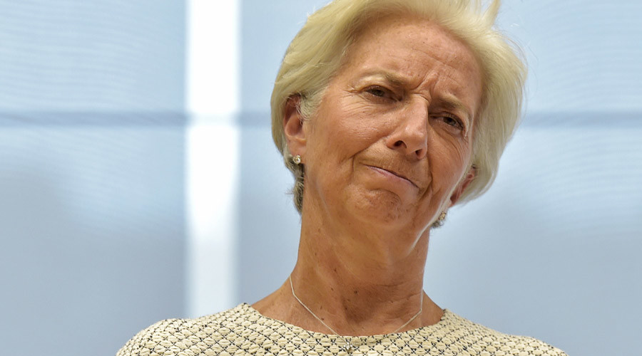International Monetary Fund (IMF) Managing Director Christine Lagarde © Eric Vidal