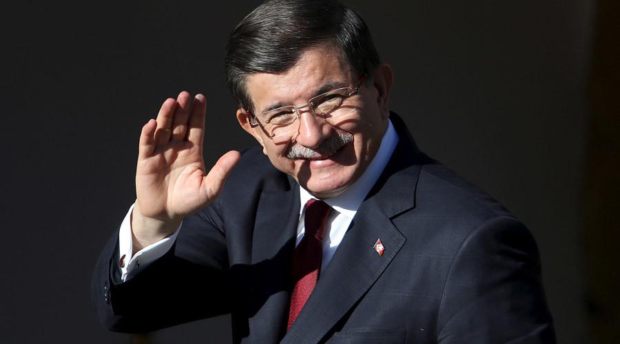 Turkish Prime Minister Ahmet Davutoglu © Yiannis Kourtoglou