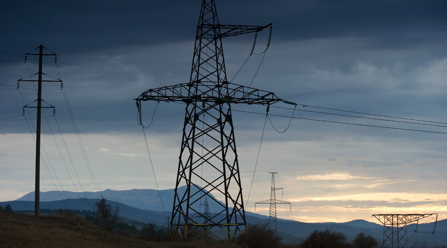 Crimeans to vote on electricity contract with Ukraine after pylon blown up