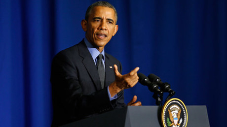 U.S. President Barack Obama © Benoit Tessier