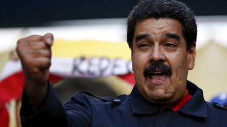 Venezuela's President Nicolas Maduro © Carlos Garcia Rawlins