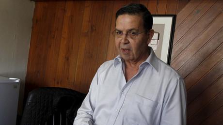 Rafael Callejas, a former Honduran soccer federation chief. © Jorge Cabrera