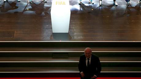 FIFA President Sepp Blatter © Arnd Wiegmann