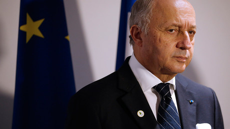French Foreign Affairs Minister Laurent Fabius © Stephane Mahe