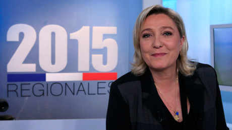 French National Front political party leader and candidate Marine Le Pen © Pascal Rossignol