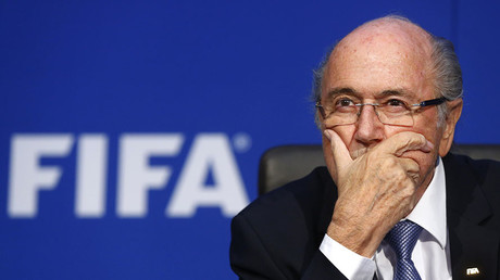 Sepp Blatter. © Arnd Wiegmann