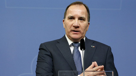 Sweden's Prime Minister Stefan Lofven © Christine Olsson