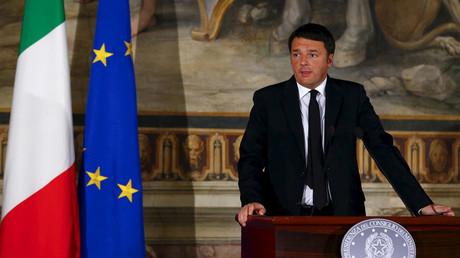 Der italienische Ministerpräsident Matteo Renzi © Tony Gentile