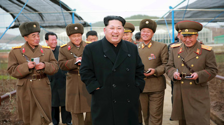North Korean leader Kim Jong Un © KCNA