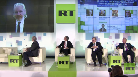 Game for privacy is gone, mass surveillance is here to stay – Assange on #RT10 panel