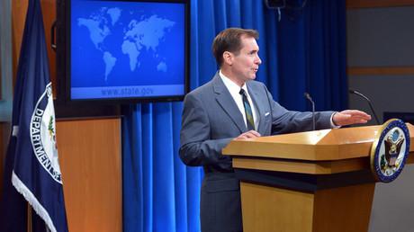 State Department Spokesman John Kirby ©  Mandel Ngan
