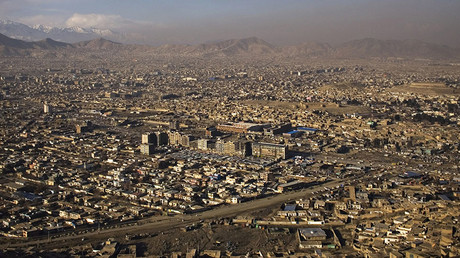 A general view of Kabul. © Marko Djurica