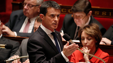 French Prime Minister Manuel Valls © Charles Platiau