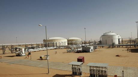 A general view shows Libya's El Sharara oilfield © Ismail Zetouni