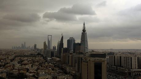 The Riyadh skyline. ©Faisal Al Nasser