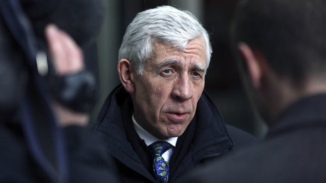 Former British foreign minister Jack Straw. © Paul Hackett