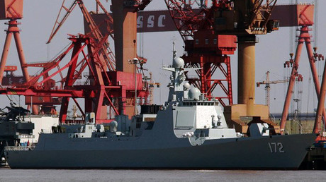The first Type 052D destroyer Kunming ©Wikipedia