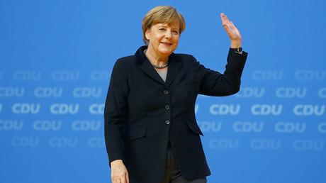 German Chancellor Angela Merkel. ©Kai Pfaffenbach