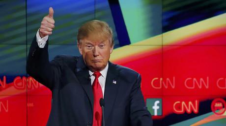 Republican U.S. presidential candidate businessman Donald Trump © Mike Blake