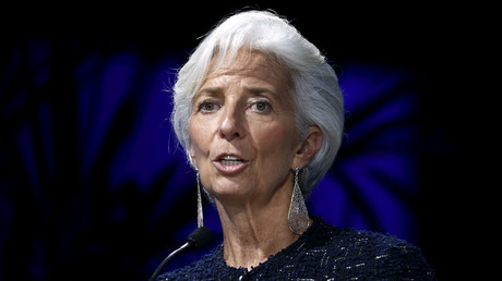 International Monetary Fund (IMF) Managing Director Christine Lagarde. © Mariana Bazo