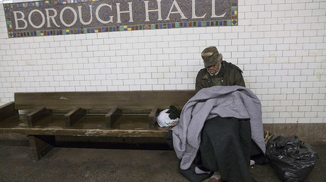 NYC homeless file complaint against police for violating civil rights