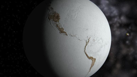 Fictional Snowball Earth © Neethis / Wikimedia Commons