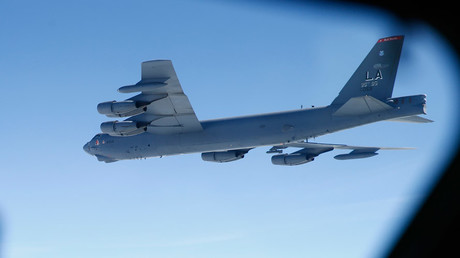 A U.S. Air Force B-52 © Andrew Winning