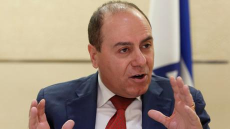 Israeli Interior Minister Silvan Shalom © John Schults
