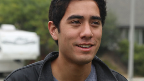 An American Vine star, film-maker and YouTube personality Zach King. © Muhammad Ali Khalid