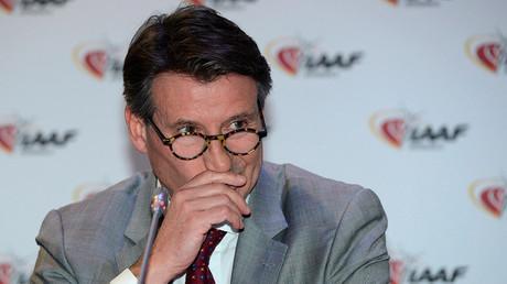 Sebastian Coe, IAAF's President © Jean-Pierre Amet