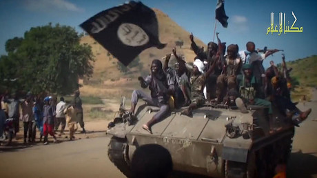 Boko Haram fighters © AFP