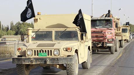 Militant Islamist fighters © Stringer