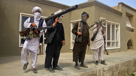 Taliban fighters © Stringer