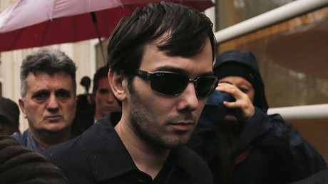 Martin Shkreli, former chief executive officer of Turing Pharmaceuticals and KaloBios Pharmaceuticals Inc. © Lucas Jackson
