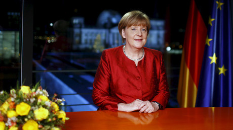 German Chancellor Angela Merkel © Hannibal Hanschke