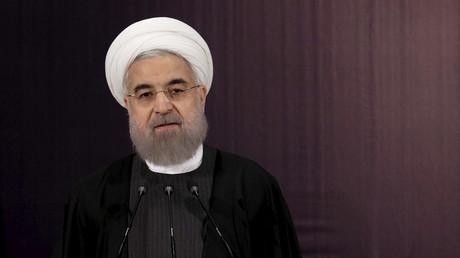 Iranian President Hassan Rouhani © Raheb Homavandi