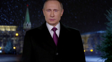 Putin pays tribute to soldiers fighting terrorism abroad in New Year's address (VIDEO)