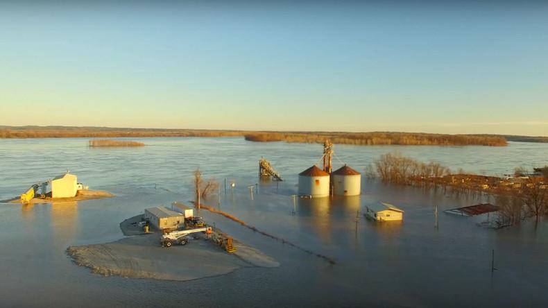 Waterworld Drone Captures Historic Missouri Flooding And