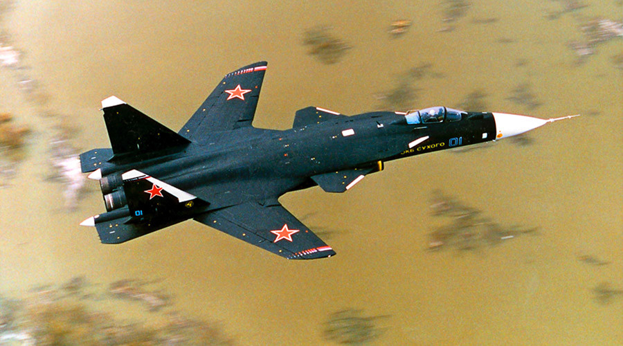 Russia's 1st forward-swept wing training aircraft performs ...