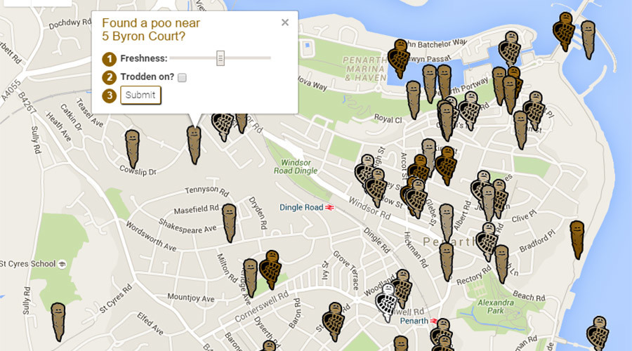 Poop-Scoop: Website gives latest news on doggie doodoo hot spots