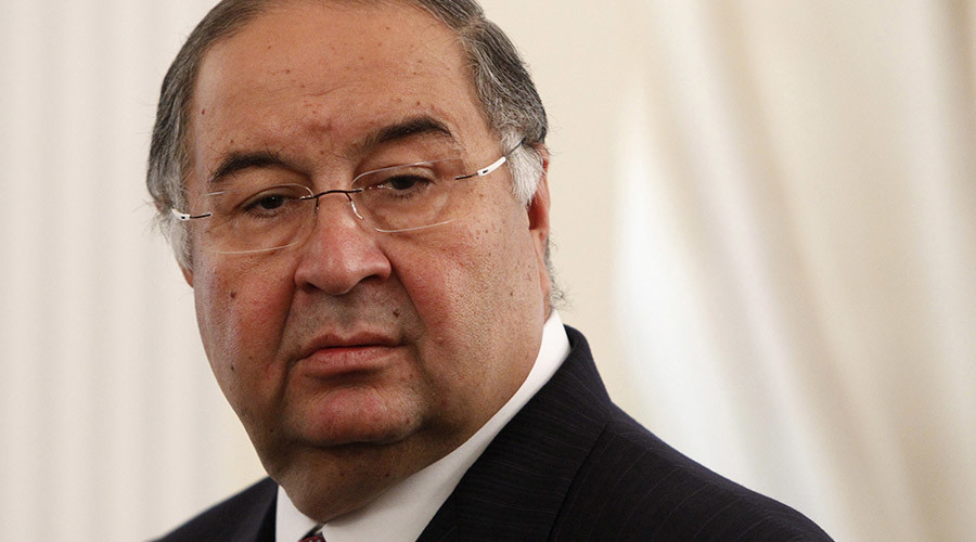 President of the International Fencing Federation Alisher Usmanov. © Maxim Shemetov