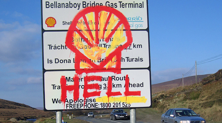 'Frightening' Shell gas pipeline flares spook Ireland